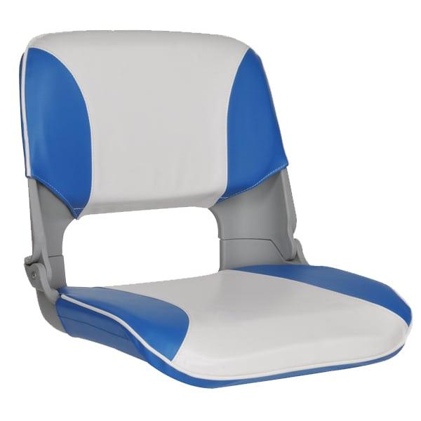 2 Premium Folding Skipper Boat Seats Marine All Weather ...